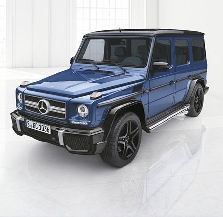 Mercedes-Benz to Offer G-wagen Fancification Program