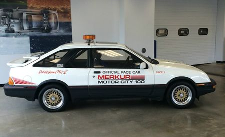 This Merkur-ious Pace Car from the Detroit Gran Prix Is Up For Sale