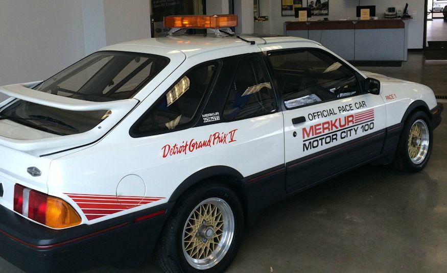 1986 Mercury Merkur XR4TI pace car - Slide 3