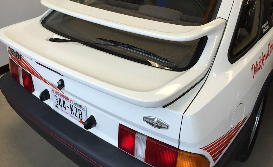 1986 Mercury Merkur XR4TI pace car - Slide 4