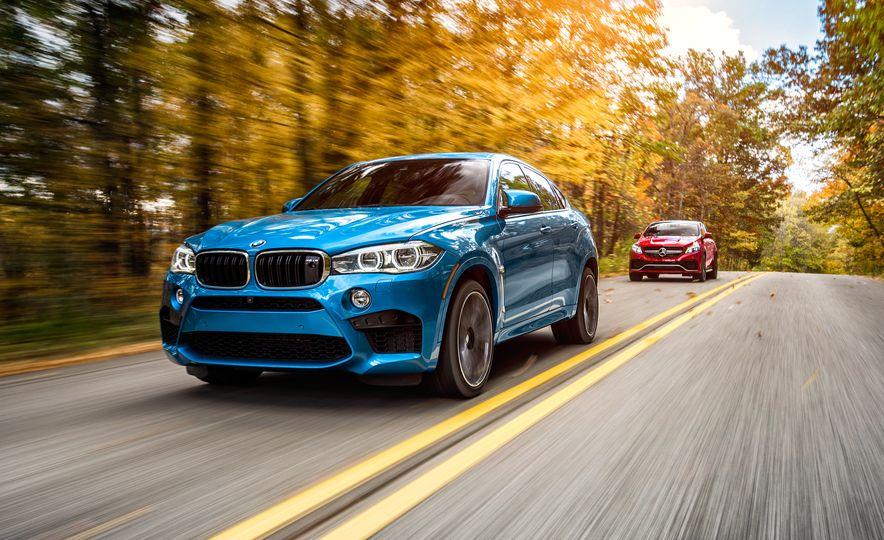 2015 BMW X6 M and 2016 Mercedes-AMG GLE63 S coupe - Slide 1