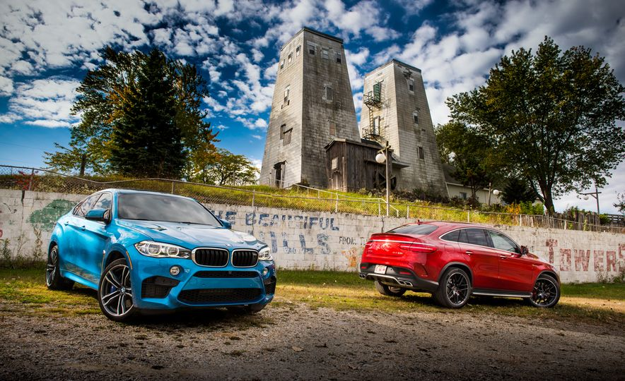 2015 BMW X6 M and 2016 Mercedes-AMG GLE63 S coupe - Slide 2
