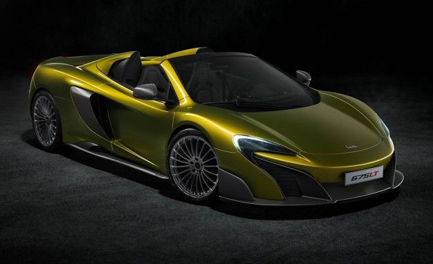 McLaren 675LT Spider: A Full Roof Away From the Original Longtail Concept