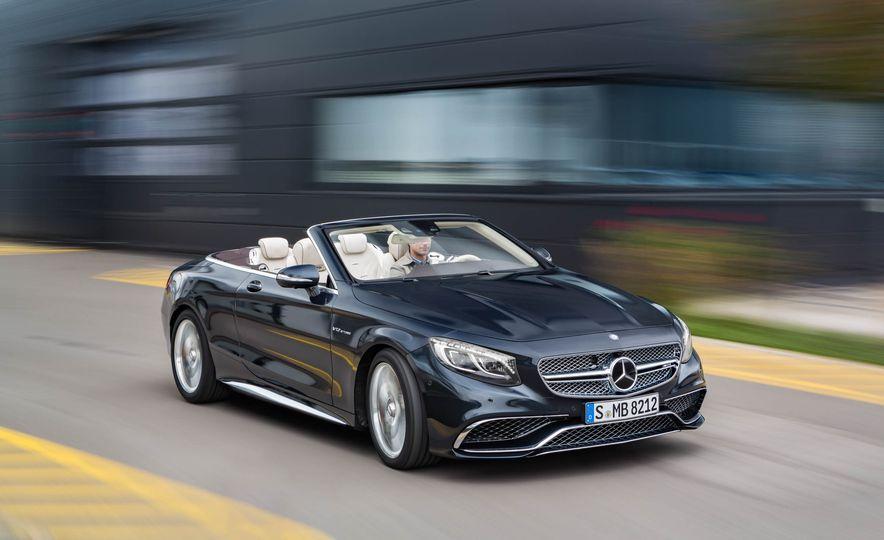 2016 Mercedes-AMG S65 cabriolet - Slide 9