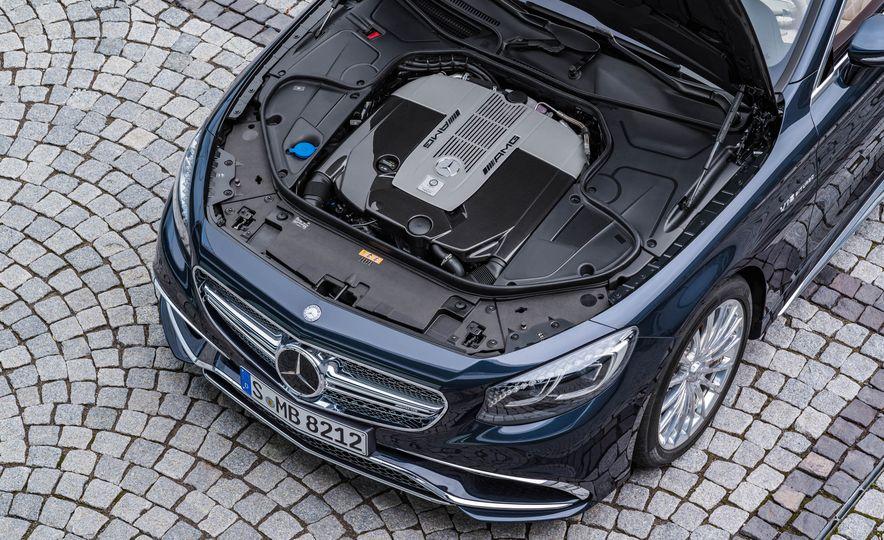 2016 Mercedes-AMG S65 cabriolet - Slide 21