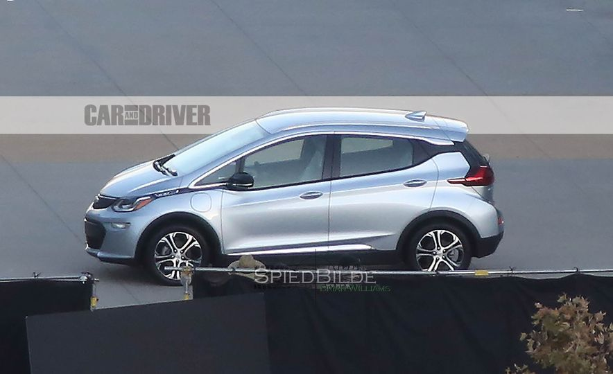 2017 Chevrolet Bolt EV (spy photo) - Slide 3