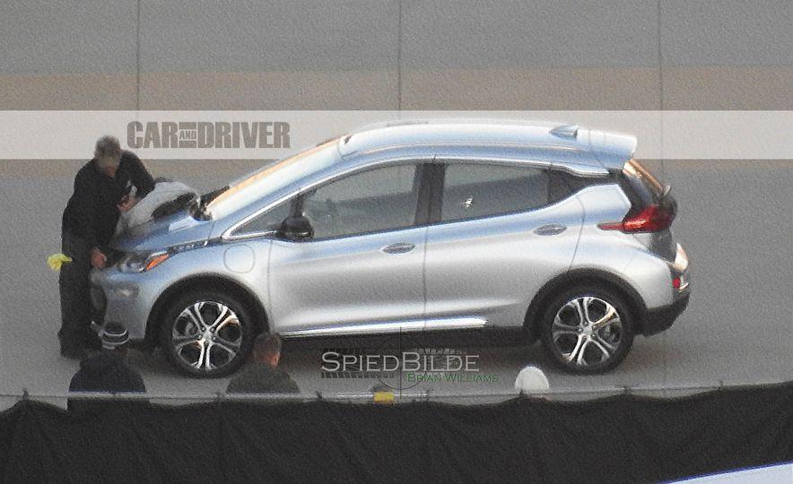 2017 Chevrolet Bolt EV (spy photo) - Slide 4