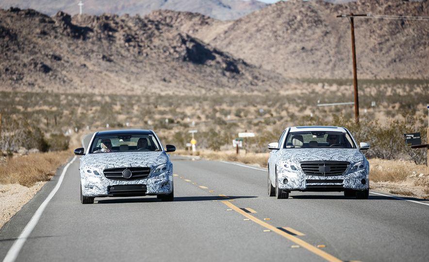 2017 Mercedes-Benz E-class prototypes - Slide 1