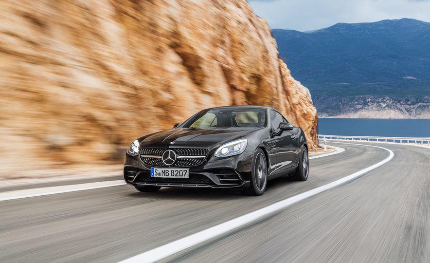 2017 Mercedes-Benz SLC - Slide 44