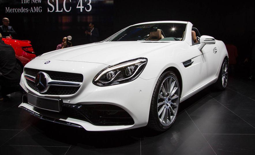 2017 Mercedes-Benz SLC - Slide 1