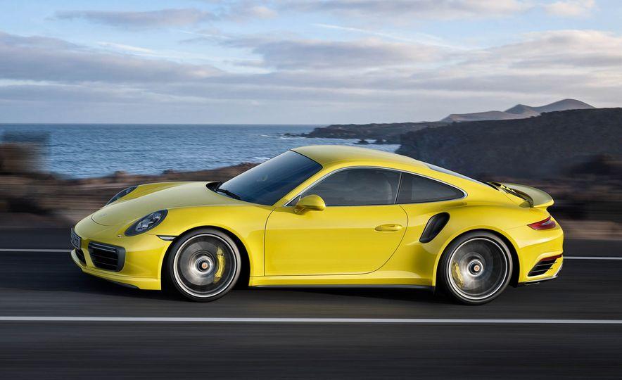 2017 Porsche 911 Turbo - Slide 14