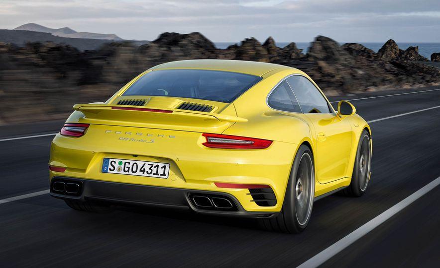 2017 Porsche 911 Turbo - Slide 15