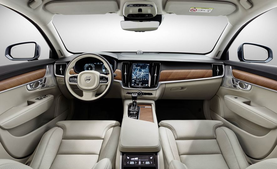 Volvo S90 Excellence interior concept - Slide 22