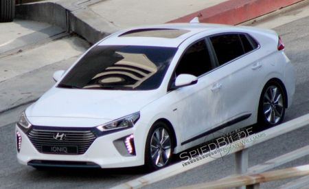 Hyundai's Prius-Fighting Ioniq EV/Hybrid Caught Undisguised!