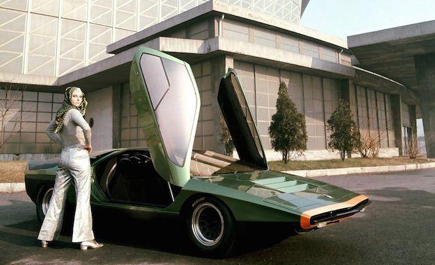 alfa romeo s stunning 1968 carabo concept ushered in the angular era