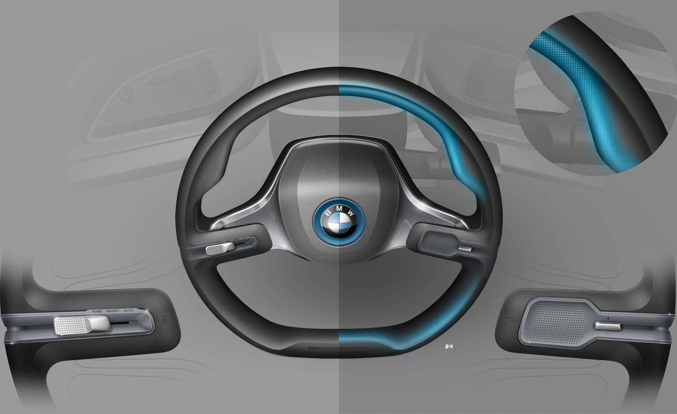 this bmw concept is packed full of future tech news car and driver Future Sphere Wheels