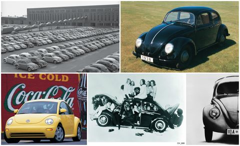 Volkswagen S Beetle Is One Of The Oldest Nameplates In Automotive History Still Use Today U Bug Was Sold Between 1950 And 1979