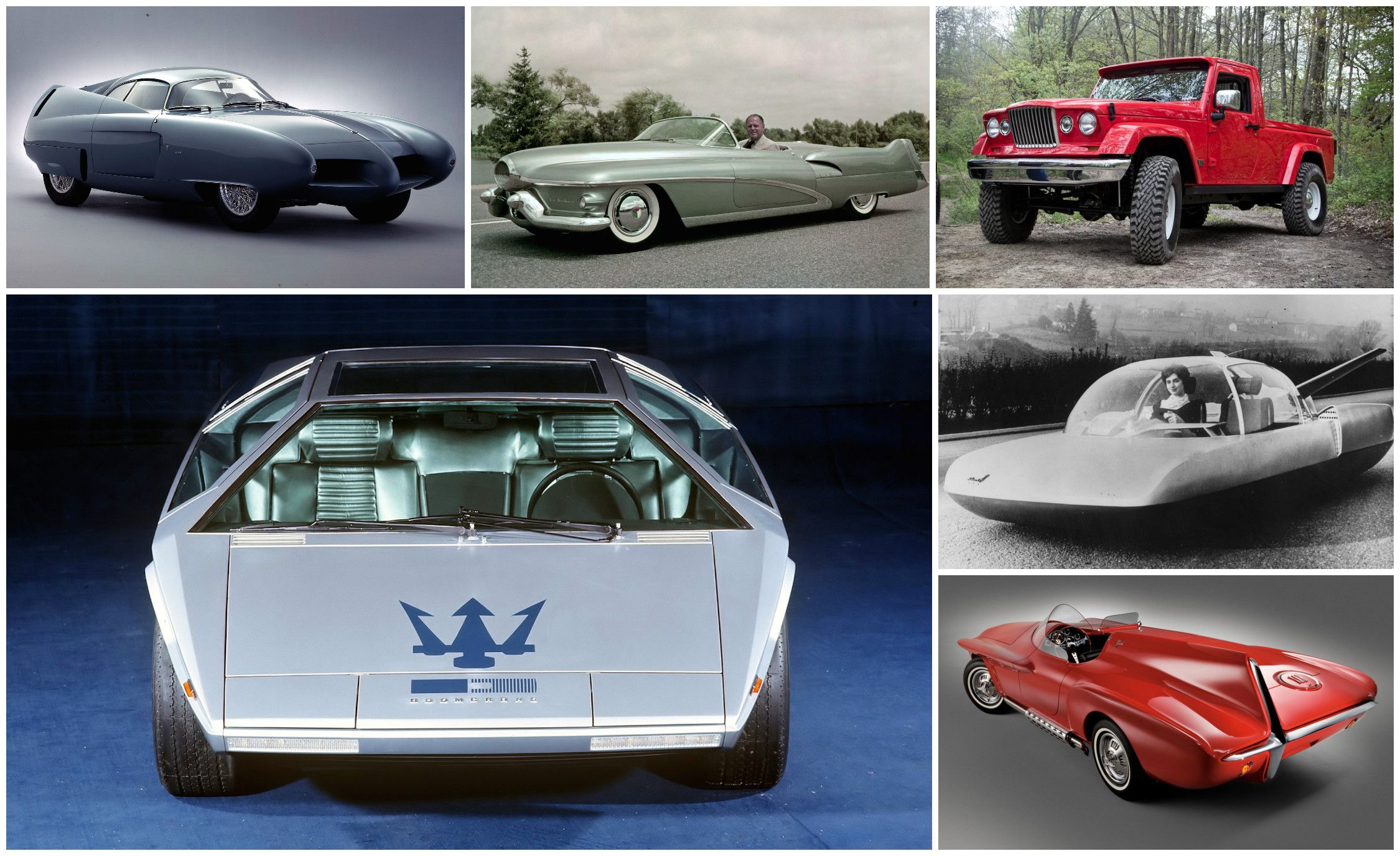 All concept cars