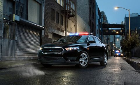 Ford S 2 0 Liter Special Service Police Sedan Pursuit Rated By Two