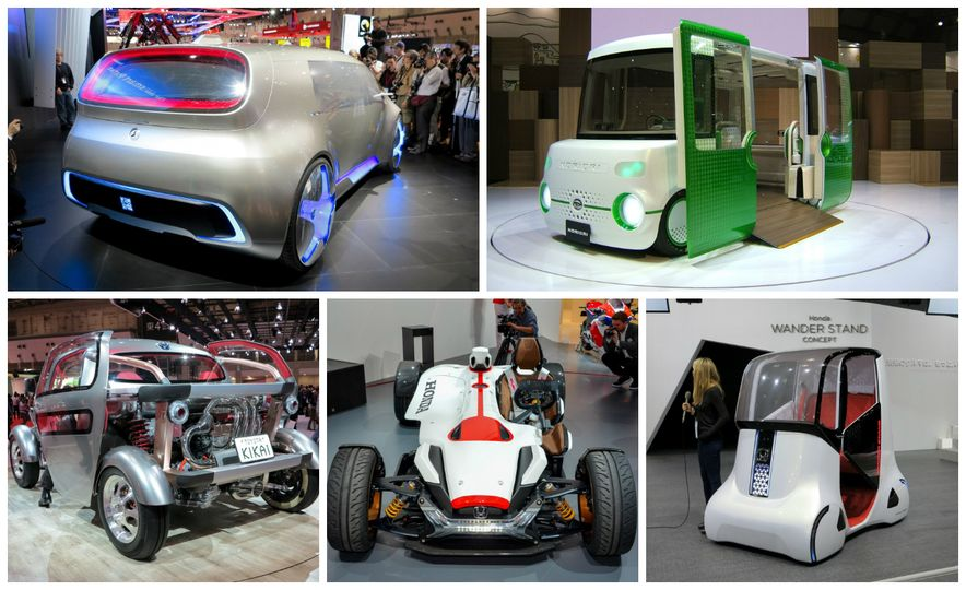 Funky Fresh: The Weirdest Concept Cars of the Year - Slide 1