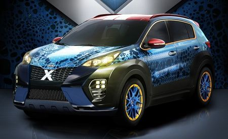 "Kia Sportage Dressed Up for ""X-Men: Apocalypse"" Is Itself an Apocalypse"