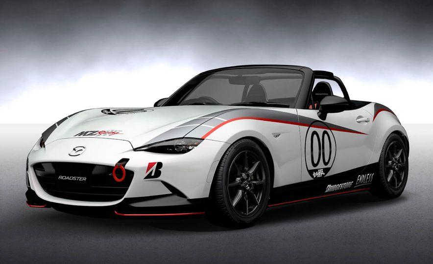 Mazda MX-5 NR-A racing spec concept - Slide 1
