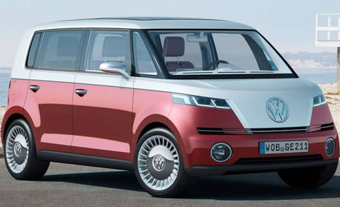 New VW Microbus EV Concept Could Appear Next Month at CES