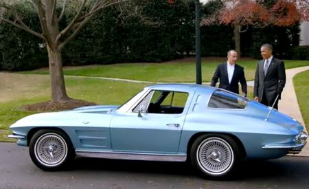 Jerry Seinfeld Puts President Obama Behind the Wheel of a '63 Corvette Sting Ray