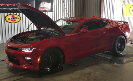 Dyno Shows 2016 Chevrolet Camaro SS Outmuscles the Corvette