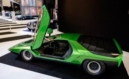 The 1968 Alfa Romeo Carabo Concept Promised the Future, All That's Left Are Scissor Doors