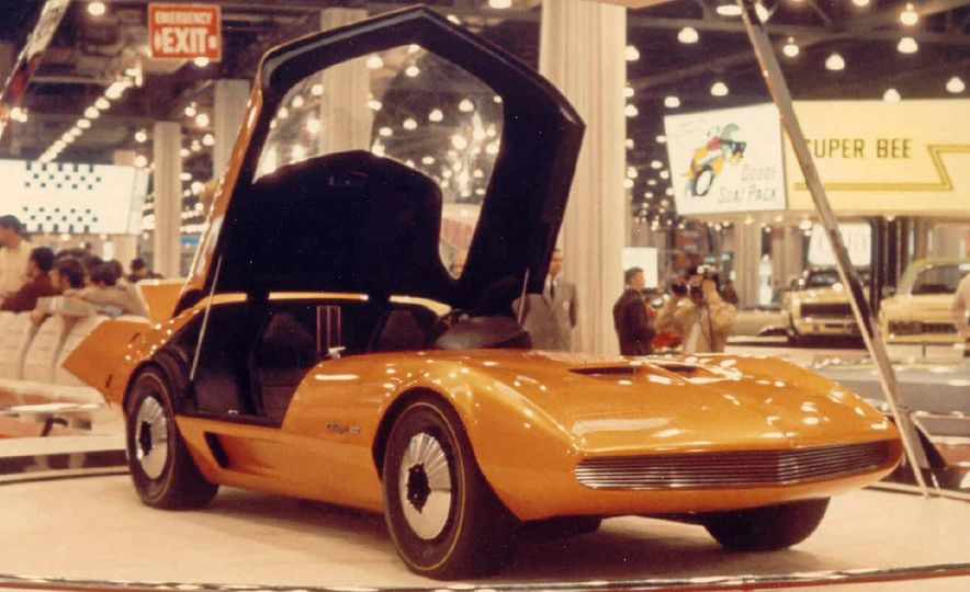 Doorstop Believin': 27 Incredible Concept Cars of the Wedge Era - Slide 4