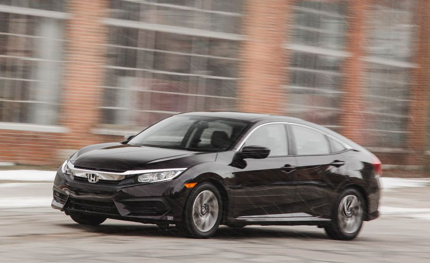 2016 Honda Civic EX - Slide 2