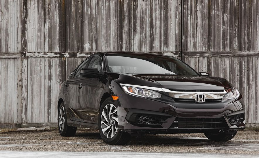 2016 Honda Civic EX - Slide 6