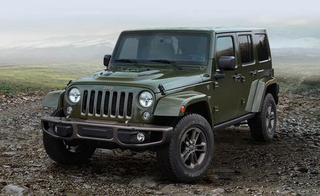 75th Anniversary Jeep Models Suit Up in Green and Bronze