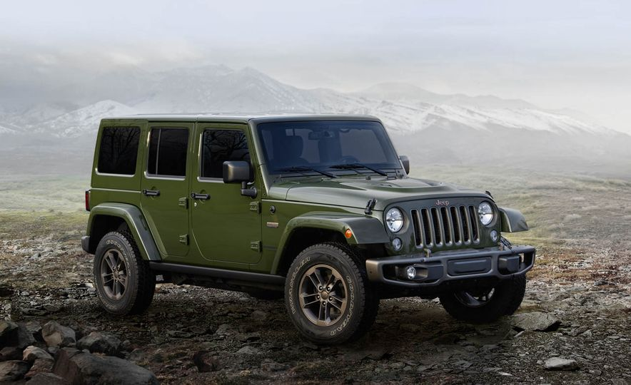 2016 Jeep Wrangler Unlimited 75th Anniversary Edition - Slide 1