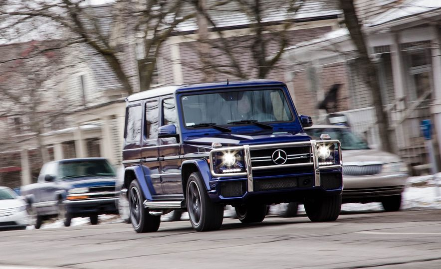 2016 Mercedes-AMG G63 4MATIC - Slide 1