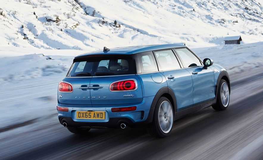 2016 Mini Clubman S ALL4 - Slide 12