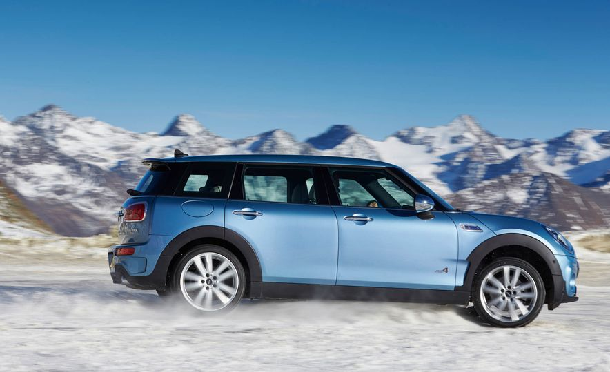 2016 Mini Clubman S ALL4 - Slide 21