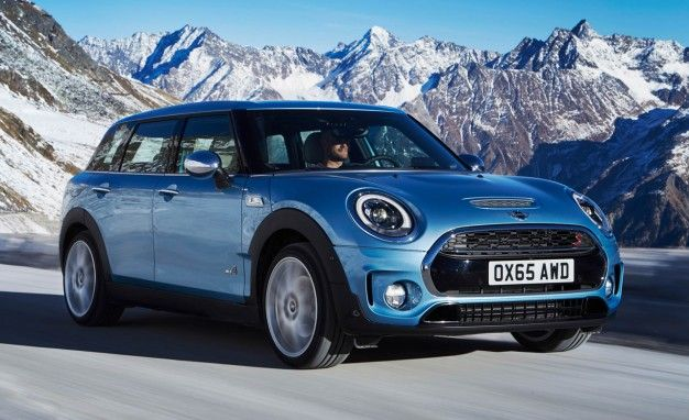 Gripping News Mini Adds All Wheel Drive Option To Clubman News