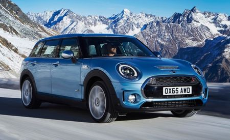 Gripping News: Mini Adds All-Wheel-Drive Option to New Clubman