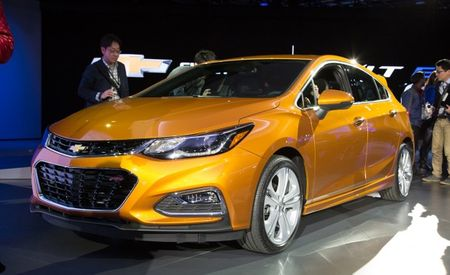 So Euro: Chevy Cruze Adds Hatchback to U.S. Lineup for 2017