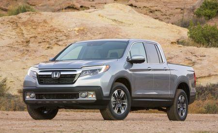 2017 Honda Ridgeline Fuel Economy Tops Mid-Size Six-Cylinder Competitors