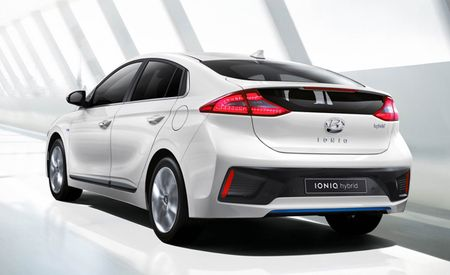 Hyundai Ioniq EV/PHEV/Hybrid First Photos, Powertrain Details Released