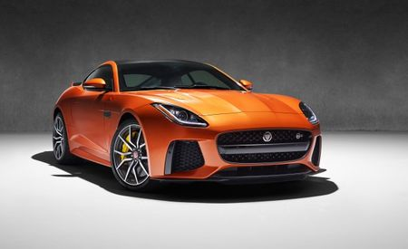 High-Performance, 200-mph Jaguar F-type SVR Confirmed
