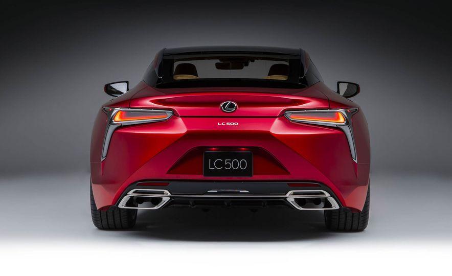 2017 Lexus LC500 - Slide 35