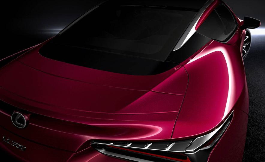 2017 Lexus LC500 - Slide 50