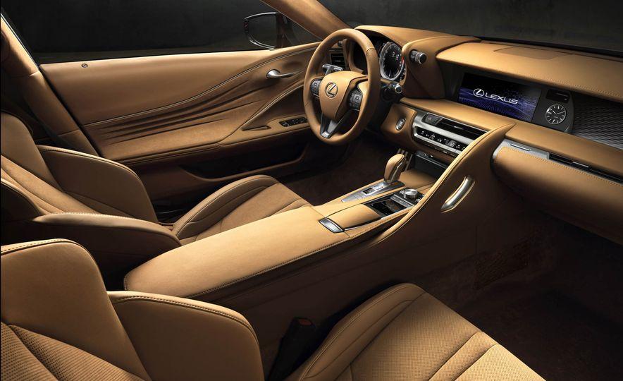 2017 Lexus LC500 - Slide 54