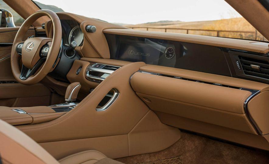 2017 Lexus LC500 - Slide 55