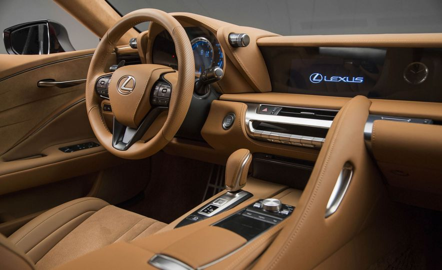 2017 Lexus LC500 - Slide 56