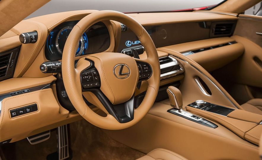 2017 Lexus LC500 - Slide 57
